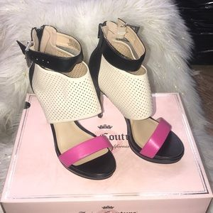 Juicy Couture high heel shoes size 8 NWT!
